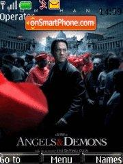 Angels and demons es el tema de pantalla