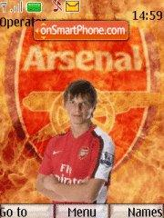 Andrey Arshavin tema screenshot