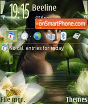 Скриншот темы Lotusgirl Nokia Theme