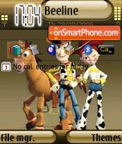 Toy Story 2 theme screenshot