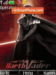 Dart Vader theme screenshot