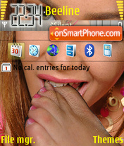 Sexy Girls theme screenshot