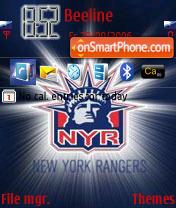 New York Rangers RD theme screenshot