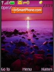 Purple Sunset theme screenshot