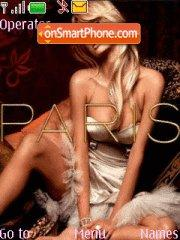 Paris Hilton theme screenshot