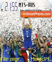 Italy World Champions theme screenshot