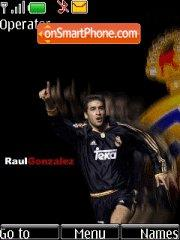 Raul Gonzalez theme screenshot
