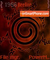 Naruto Seal Version2 theme screenshot