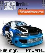 Tuning Car 02 es el tema de pantalla