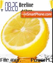 Lemon Fresh theme screenshot