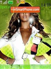 Скриншот темы Beyonce 10