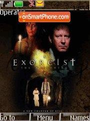 Exorcist 01 theme screenshot