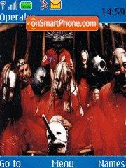 Slipknot 15 theme screenshot