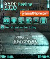 Скриншот темы Dozor 01