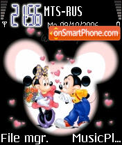 Last Dance Of Mickey theme screenshot