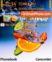 Fruit Juice theme screenshot