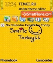 Just Smile 01 theme screenshot