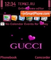 Gucci 11 theme screenshot