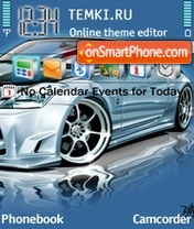 Nissan 350z 08 theme screenshot