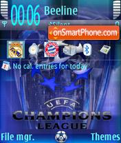 Champions League 05 theme screenshot