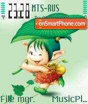 Green Toread theme screenshot
