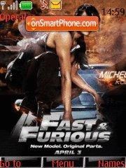 The Fast And Furious theme screenshot