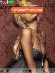 Скриншот темы Paris Hilton 18