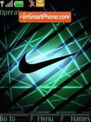 Скриншот темы Nike Haze