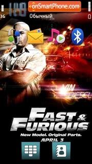 Fast Furious tema screenshot