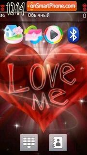 Loveme es el tema de pantalla