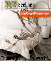 Shake Them Bones theme screenshot