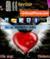 Heart Theme-Screenshot