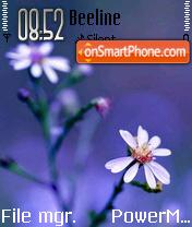 Floral View es el tema de pantalla