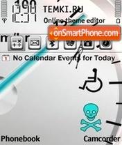 Скриншот темы Speed 281
