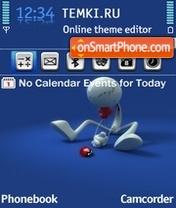 I Miss You 04 theme screenshot