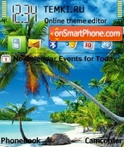 Tropical 02 theme screenshot