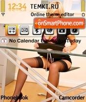 Sexy Office es el tema de pantalla