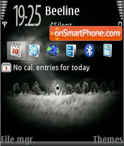 Black 08 tema screenshot