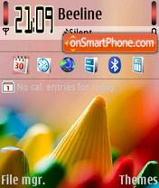 Marble theme screenshot