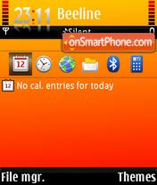 Rosemagic theme screenshot