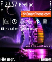 Dubai Hotel 01 theme screenshot