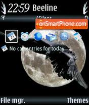 Night hunter theme screenshot