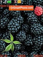 Скриншот темы Blackberry