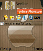 B Apple 3250 theme screenshot