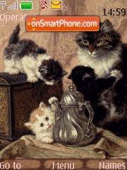Little cats theme screenshot