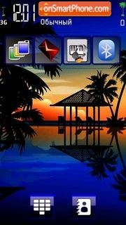 Holiday Feeling tema screenshot