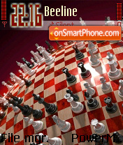 Chess World es el tema de pantalla