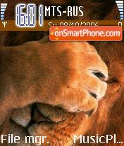 The Shy King Lion es el tema de pantalla