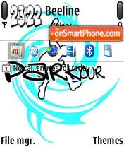 Parkour 06 es el tema de pantalla
