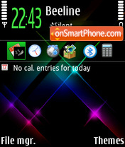 Stars 08 theme screenshot